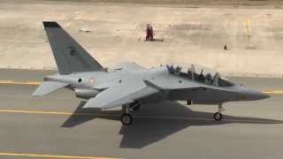 Italian Air Force flight training on the Alenia Aermacchi M-346