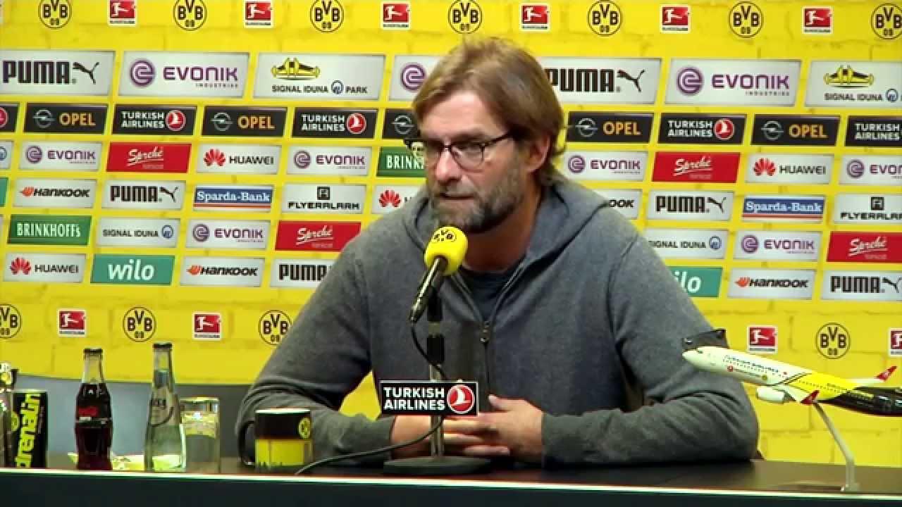 "Jürgen Klopp: ""Weiß, wie sich Abstiegskampf anfühlt"" | Borussia Dortmund - TSG 1899 Hoffenheim"