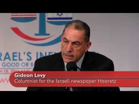 """Keynote: """"What I would tell a visiting congressional delegation"""" Gideon Levy"""