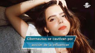 Yuya cautivó a los cibernautas al enterarse que la empresaria recibió el regalo de una marca de lentes mexicana y la anunció en sus redes sociales de forma gratuita