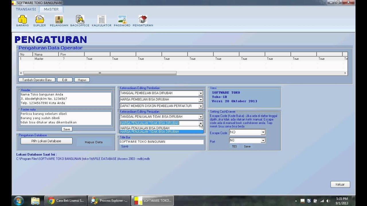 Software Toko Bangunan Toko 1b Download Gratis Software Toko Bangunan Versi Trial