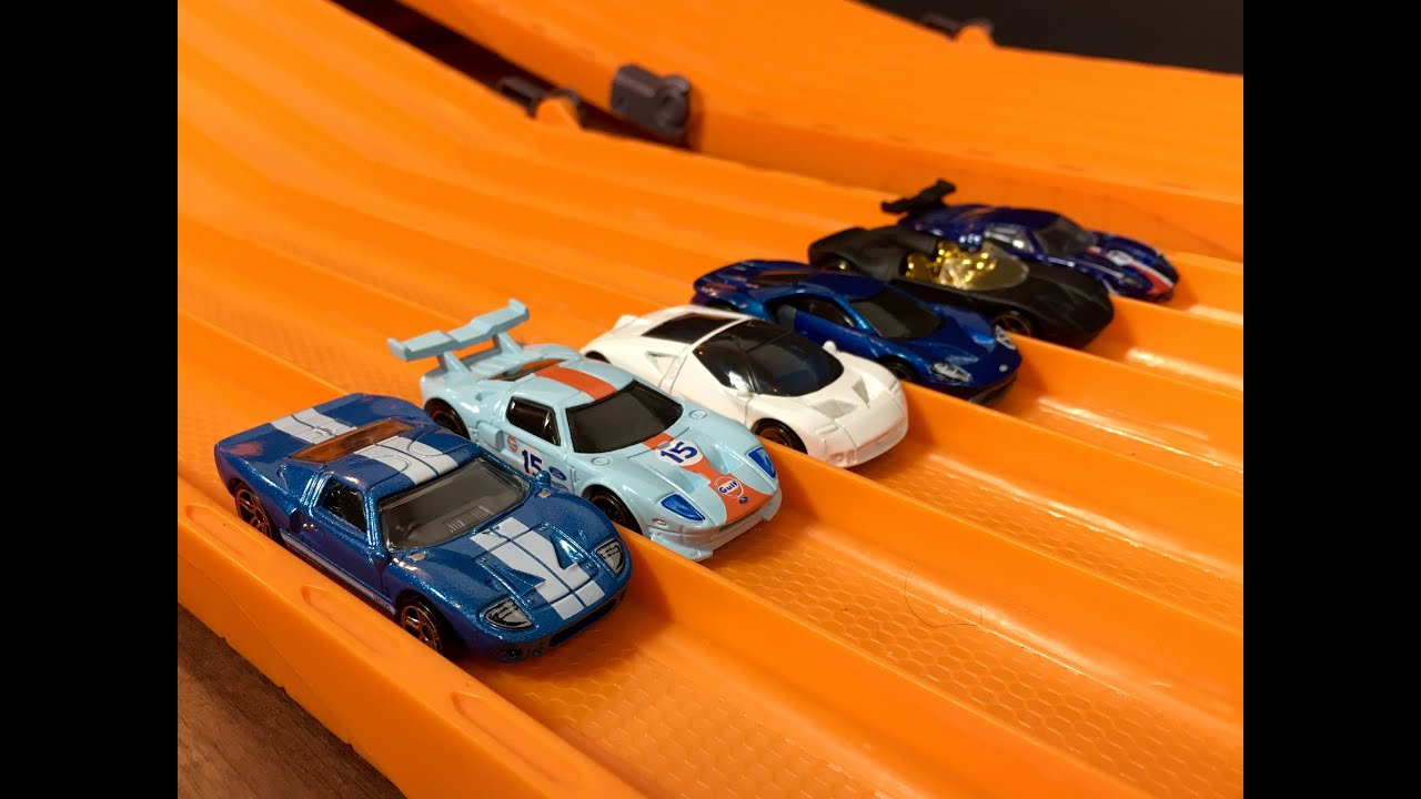 Race Ford Gt Gt Gt Race  Hot Wheels
