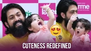 Rocking Star Yash Daughter Ayra's Cuteness Overloaded | Manastars
