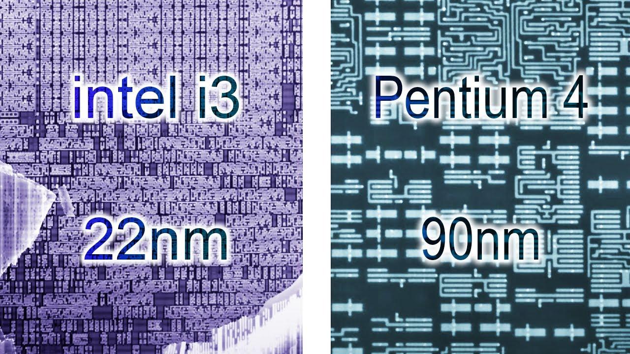 Procesory 22nm vs 90nm - jak wygląda różnica w mikroskopie elektronowym?