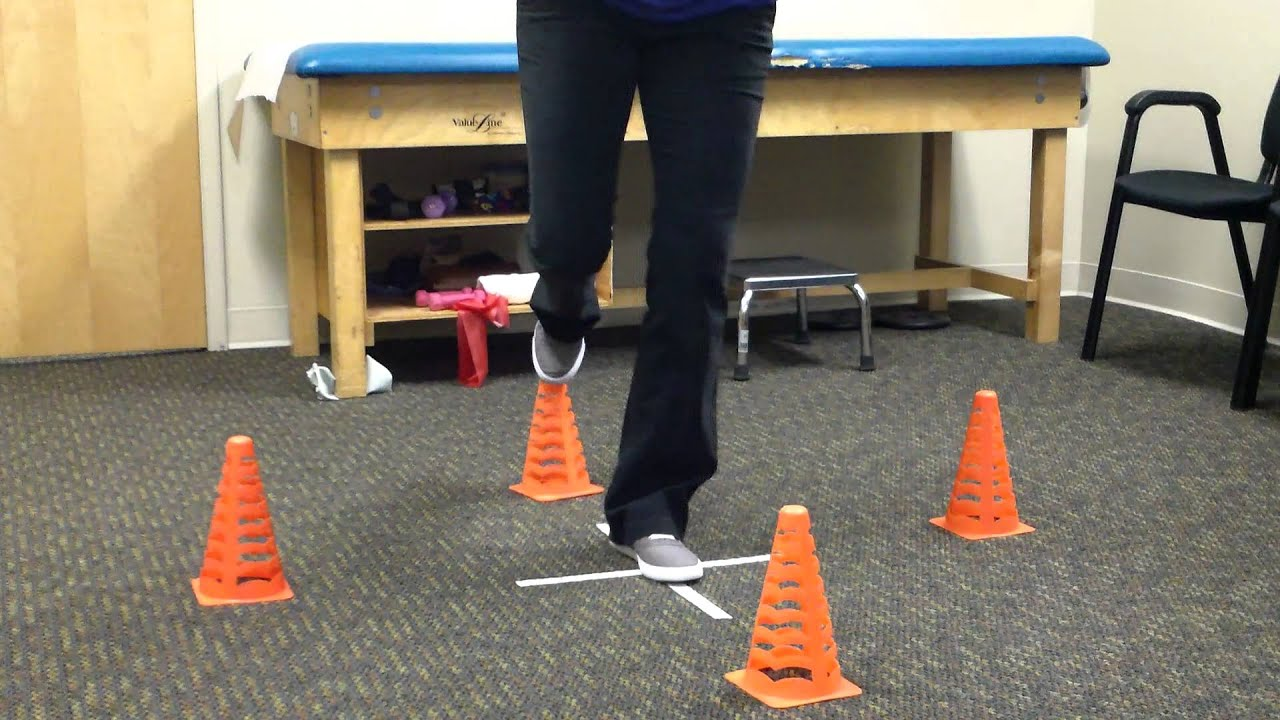 Balance and physical therapy - Cone Balance Drill Ctpo Physicaltherapy