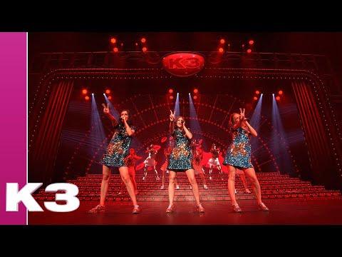 K3 - Medley: Dieper dan de zee & I Love you baby | Vlindershow