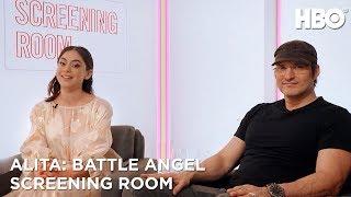 Rosa Salazar & Robert Rodriguez on Alita: Battle Angel (2019 Movie) | HBO