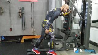Сгибание ног - ошибки в упражнении