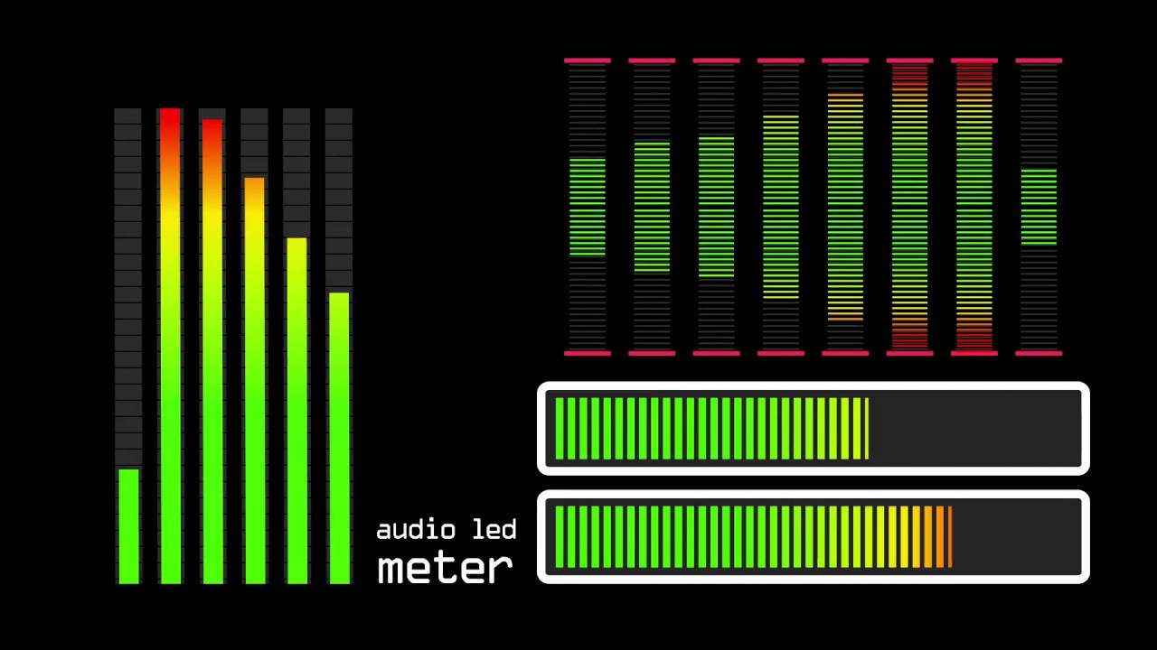 Audio Led Meter Youtube Vu