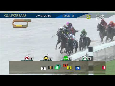 Gulfstream Park July 13, 2019 Race 8