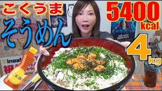 【MUKBANG】 SIMPLE BUT TASTY & ADDICTIVE!!! [Sesame Oil Somen] 10 Servings [5400kcal][CC Available] thumbnail