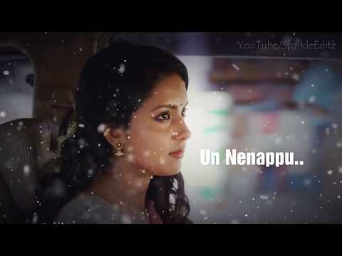 💞 Un Nenappu Nenju Kuzhi Vara Irukku 💞 Female Love 💞 Tamil Whatsapp Status 💞 Lyrical Video 💞