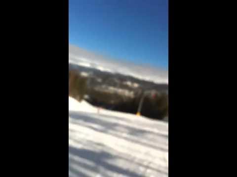 Naked Ski Run - Insane