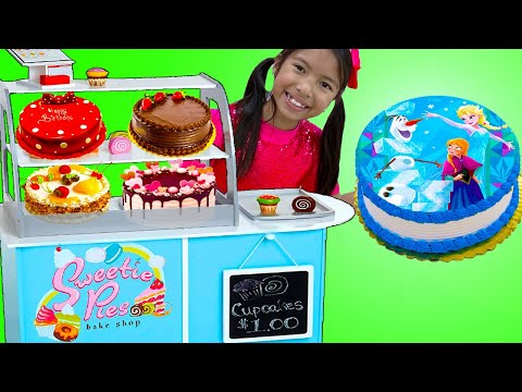 Bake A Cake Song | Wendy Learn How To Bake A Birthday Cake | Sing-Along Nursery Rhymes Kids Songs