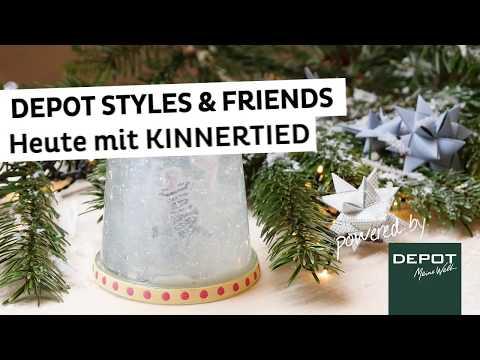 DEPOT Styles | Schneekugeln selber machen - kinderleichtes DIY