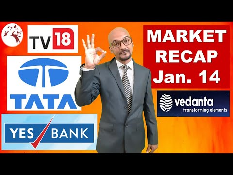 latest-market-news-|-yes-bank-share-price-|-tv18-broadcast-share-|-market-recap-|-hindi
