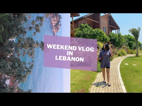 weekend vlog in lebanon (mini office tour, a getaway with the family, packing)