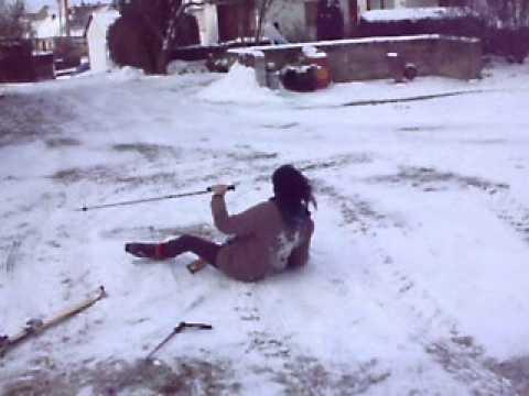 Ski Brutaler Sturz Lustig Youtube