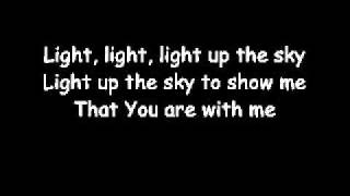 Light Up The Sky - The Afters (lyrics)