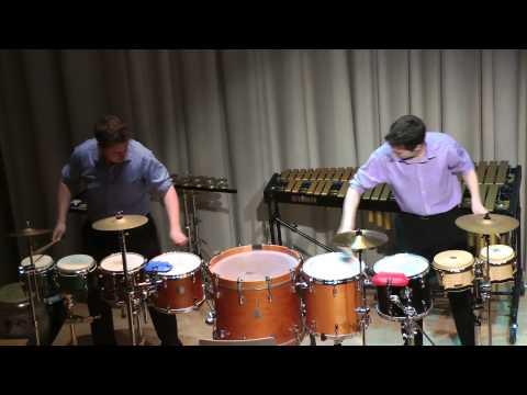 Cymbiotic Percussion Duo - Ross Garrod - Cymbiotic