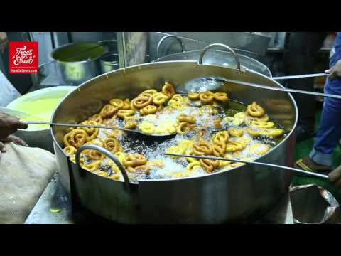 Mumbai Street Food - How To Making Rabadi Jalebi -Famous Sweet Dishe -Area Bandra West