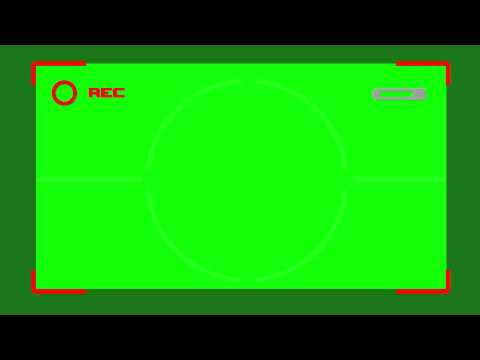 Green Screen Record Camera Mode Free Footage Stock