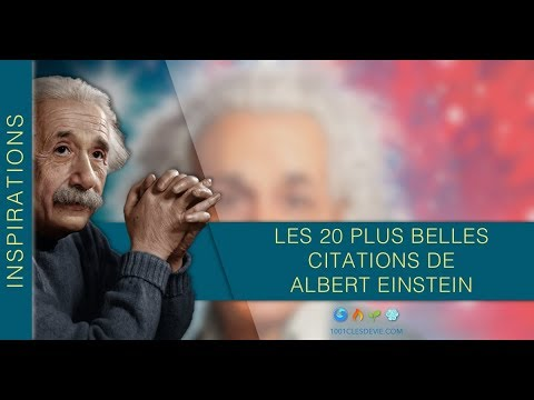 Albert Einstein Les 20 Plus Belles Citations Motivantes D Albert Einstein Notre Destin