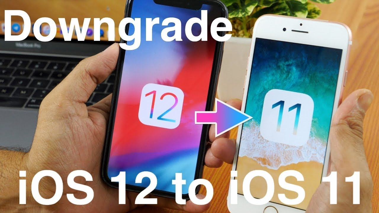 How to Downgrade from iOS 12 to iOS 11 4 Without Loosing Data?