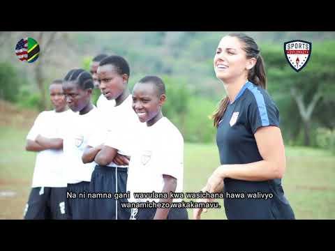 Mabalozi wa Michezo (Sports Envoys) wakiwa Monduli, Tanzania