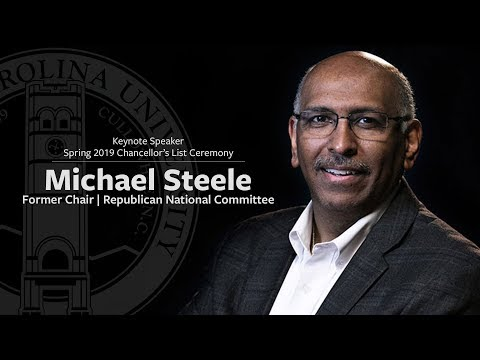 Michael Steele | Spring 2019 Chancellor's List Keynote Speaker ...