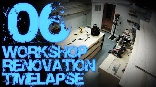 06. Workshop Renovation Timelapse 06 - Final Reveal 02 (workbenches And Storage Shelves)