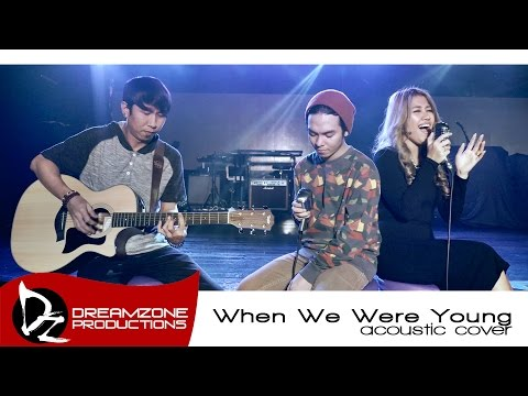 When We Were Young Adele Acoustic  Sam Mangubat feat Billy Padillo