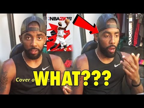 Kyrie Irving was SURPRISED, after finding out his NBA2K18 RATING!