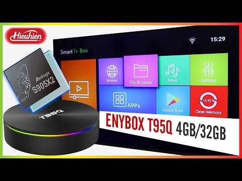 Enybox T95Q 4GB/32GB Android 8 1 TV Box Amlogic S905X2