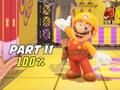 SUPER MARIO ODYSSEY Walkthrough Part 11 - 100% Tribute (Let's Play Commentary)