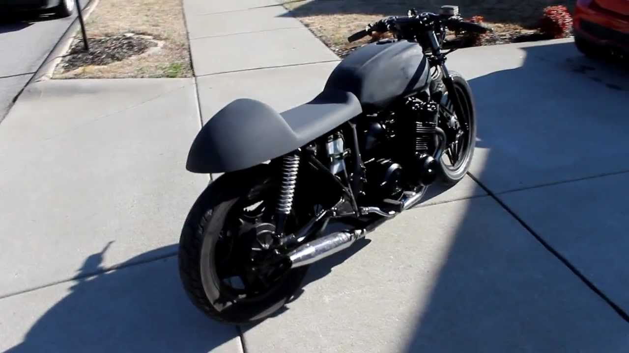 1979 cb750 cafe racer project runs!! - youtube