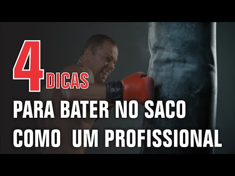4 dicas de como golpear o saco de boxe como um profissional