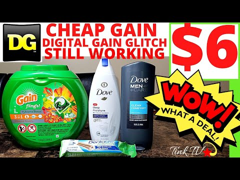 💥🏃 DOLLAR GENERAL GAIN GLITCH IS WORKING ON 51ct PODS🏃CHEAP/EASY  DO NOW DEAL💥 P&G $5.01 Q  PROBLEMS