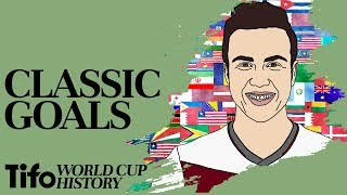 Mario Gotze WC Goal 2014   A History Of The World Cup