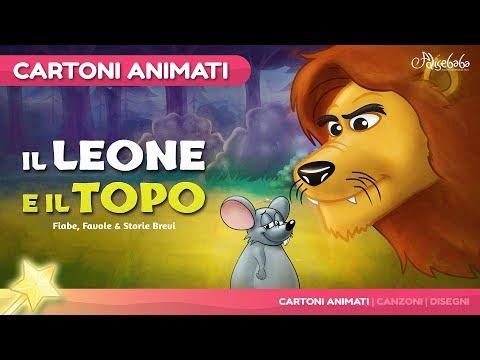 Il Leone e il topo   Cartoni Animati