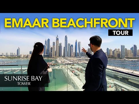EMAAR BEACHFRONT SHOW APARTMENT & PROJECT EXPLANATION   Realtor Property Vlog #33