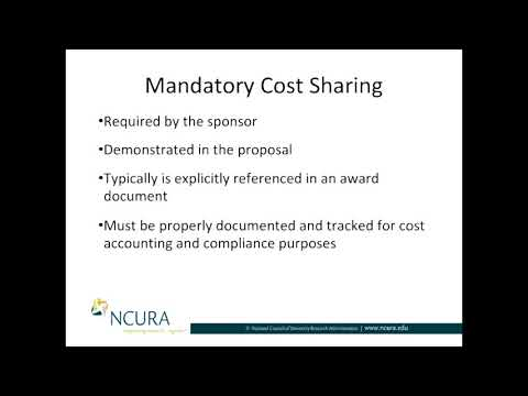 4-Part Series on Cost Sharing, Part 2: Mandatory Cost Sharing