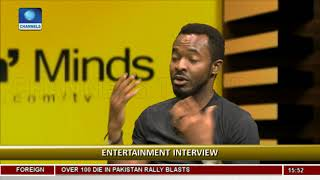 My Wife Has No Problem With How I Kiss On Set - OC Ukeje Rubbin Minds