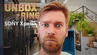 PAGALIAU! GAVOM SONY FLAGMANĄ!!!   SONY Xperia 1   Unbox Ring apžvalga
