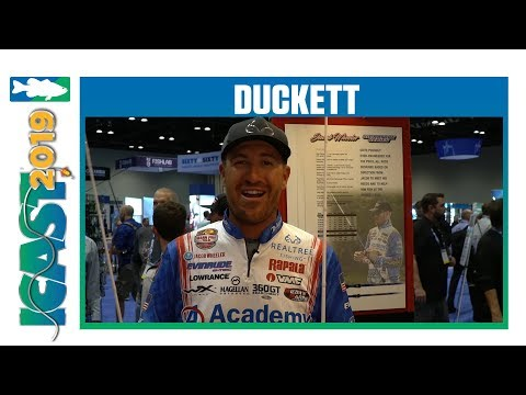 Duckett Jacob Wheeler Signature Series Rods with Jacob Wheeler | iCast 2019