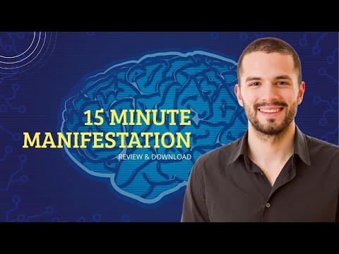 15 Minute Manifestation Review - Eddie Sergey Audio MP3 Download
