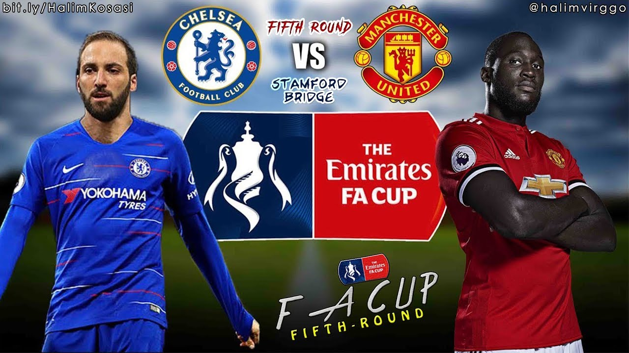 Chelsea v man united fa cup highlights