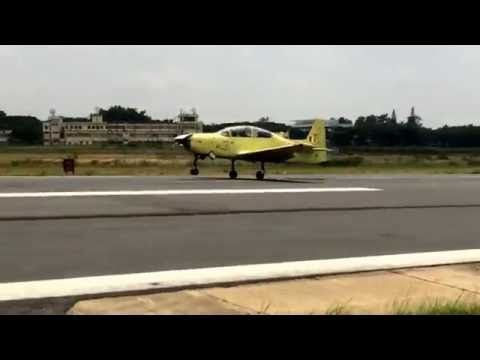 Watch the maiden inaugural flight of India's indigenous Basic Trainer Aircraft HTT-40