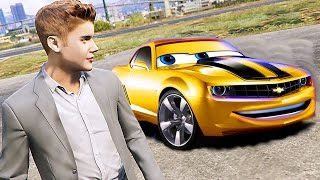 Grand Theft Auto V - Transformers Camaro Bumblebee - GTA 5 Gameplay