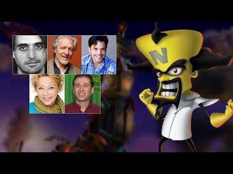 Comparing The Voices - Dr. Neo Cortex